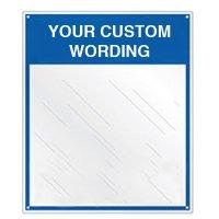 Custom Safety Slogan Mirror Sign