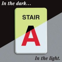 Custom Stair Identification Signs