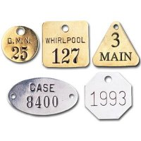 Custom Stamped Metal Tags