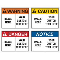 Custom Food Service ANSI Format Signs