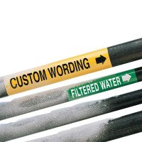 Custom Ultra-Mark® Snap-Around High Performance Pipe Markers