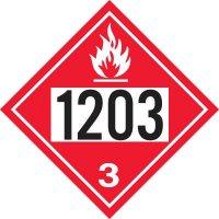 1203 Gasoline - DOT Placards