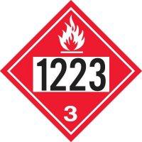 1223 Kerosene - DOT Placards