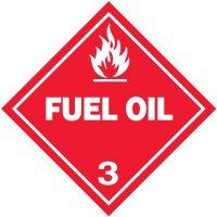 Fuel Oil 3 D.O.T. Placards