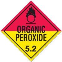 Organic Peroxide 5.2 D.O.T. Placards