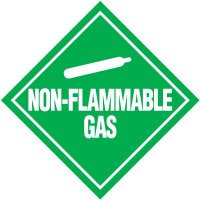 Non-Flammable Gas D.O.T. Placards