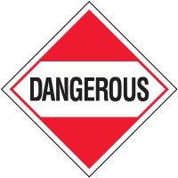 Dangerous D.O.T. Placards
