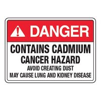 Cadmium Avoid Creating Dust - California Chemical Labels