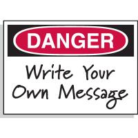 Danger Header Only - Hazard Warning Labels