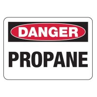 Danger Propane Gas Safety Sign