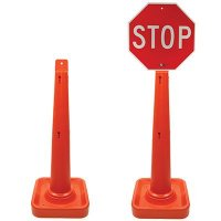 Mount-Top Delineator Traffic Cone