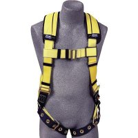 Delta™ II Vest Style Harness with Single Back D-Ring  1102000