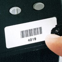 Custom Destructible Bar Code Asset Labels
