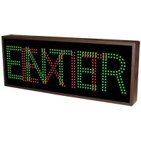 Direct View LED Signs - Enter/Exit