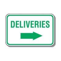 Reserved Parking Signs - Deliveries