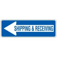 Directional Arrow Traffic Signs - Shipping & Receiving