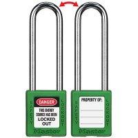Master Lock® 410 Zenex™ Thermoplastic Safety Padlocks