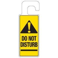 Door Knob Hangers - Do Not Disturb