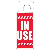 Door Knob Hangers - In Use