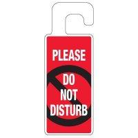 Door Knob Hangers - Please Do Not Disturb