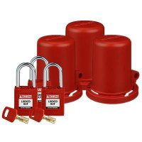 Brady®Drinking Fountain Safety Cover Kit for 3 Fountains