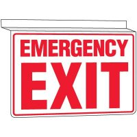 Drop Ceiling Emergency Exit Sign