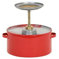 Eagle® Metal Plunger Can
