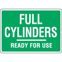 Eco-Friendly Signs - Full Cylinders Ready For Use