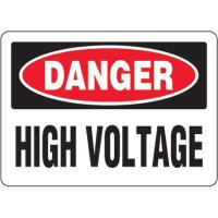 Danger, High Voltage - Eco-Friendly Signs