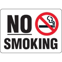Eco-Friendly No Smoking Signs