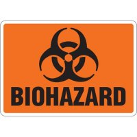Eco-Friendly Signs - Biohazard