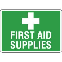 Eco-Friendly Signs - First Aid Supplies