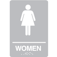 Women ADA - Economy Braille Signs