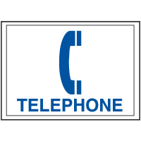 Economy Front Office Signs - Telephone
