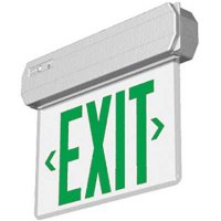 Edge Lit Thermoplastic Exit Sign