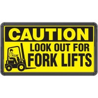 Electro-Viz Forklift Safety Sign