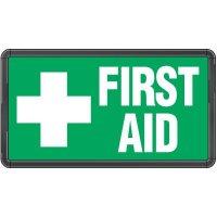 Electro-Viz First Aid Sign