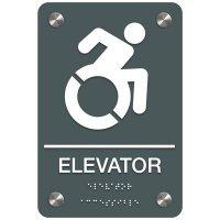 Elevator (Dynamic Accessibility) - Premium ADA Facility Signs