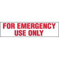Emergency Use Only Label
