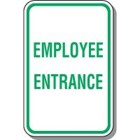 Employee Parking Signs - Employee Entrance