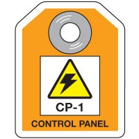 Control Panel Energy Source ID Tag