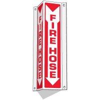 Slim-Line 3-Way Fire Hose Sign