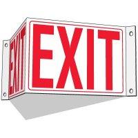 3-Way Exit Sign