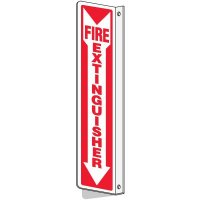 Slim-Line 2-Way Fire Extinguisher Sign