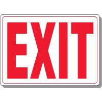 Acrylic Exit Sign (White)