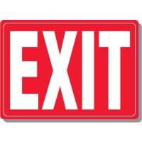 Acrylic Exit Sign (Red)