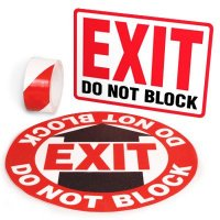 Exit Identification Kits - Exit Do Not Block