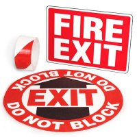Exit Identification Kits - Fire Exit
