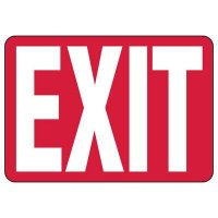 Exit Sign (Red)