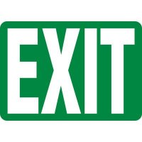 Exit Sign (Green)